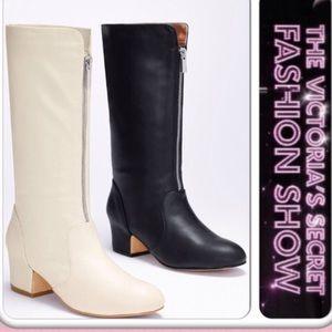 Victoria's Secret Front Zip Riding Boots
