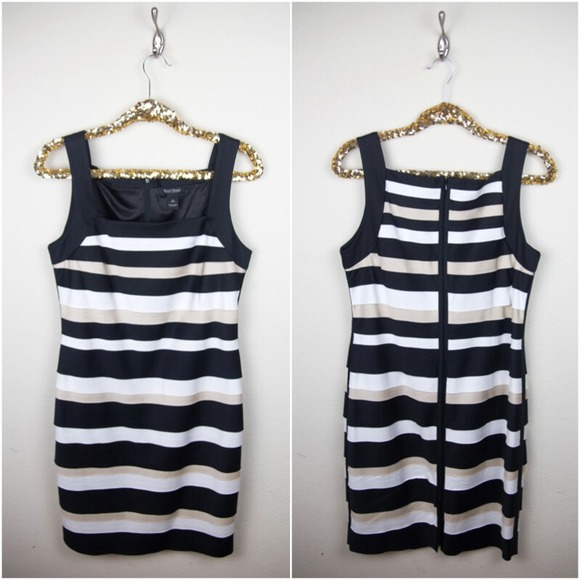 White House Black Market Dresses - White House Black Market Sleeveless Tiered Dress
