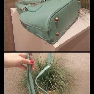 9ac46ad67c Bags   Tiffany Blue Mini Satchel Crossbody Purse Bag   Poshmark