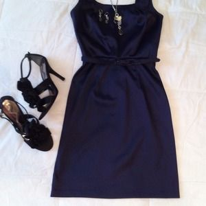 A. Byer Dresses & Skirts - It's wedding season!! Navy blue cocktail dress