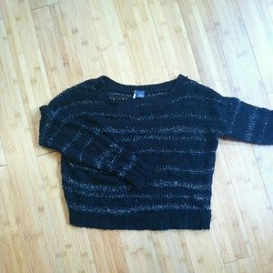 Sparkle and fade knit sweater urban outfitters
