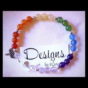 """Jewelry - Gemstone """"chakra"""" Bracelet"""