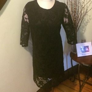 W118 by Walter Baker Dresses & Skirts - Black lace dress perfect holiday party dress