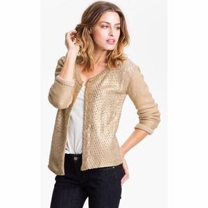 46% off bebe Sweaters - Pale gold cardigan from Marie's closet on ...