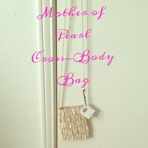 Mother of Pearl cross-body bag