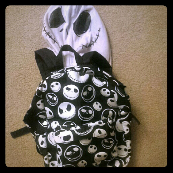 Hot Topic Nightmare Before Christmas Backpack.Nightmare Before Christmas Backpack