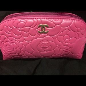 Chanel camellia pouch - just sharing