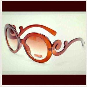 Accessories - Brown  sunglasses