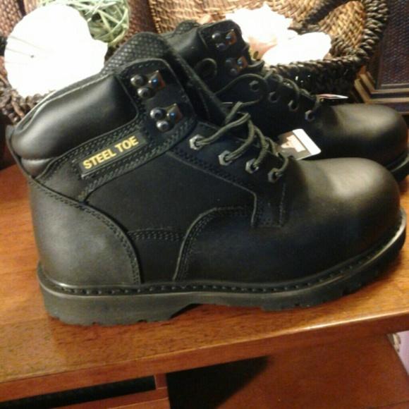 BRAHMA - Men's Steel Toe Boots from Trina's closet on Poshmark