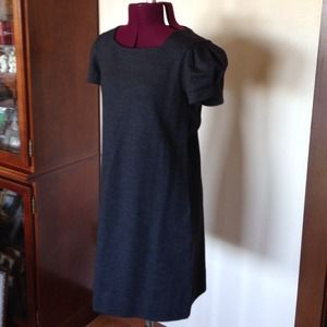 Gray Flannel Soft Knit Short Sleeve Dress XS