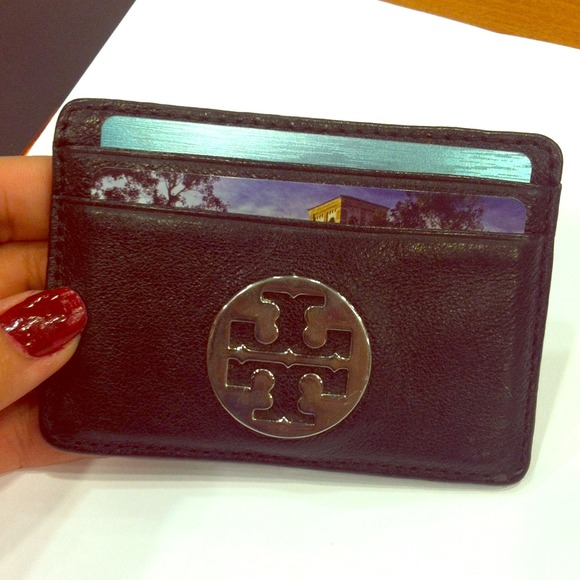 57 Off Tory Burch Handbags Tory Burch Mini Card Holder Wallet