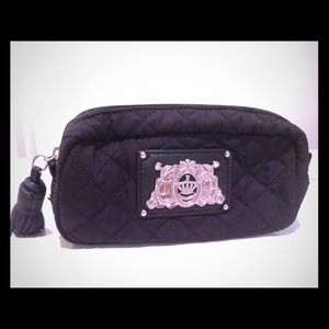 Brand New Juicy Couture Black Pouch