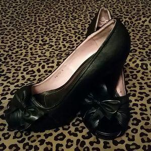 Shoes - ***REDUCED***  T.U.K vintage black heels