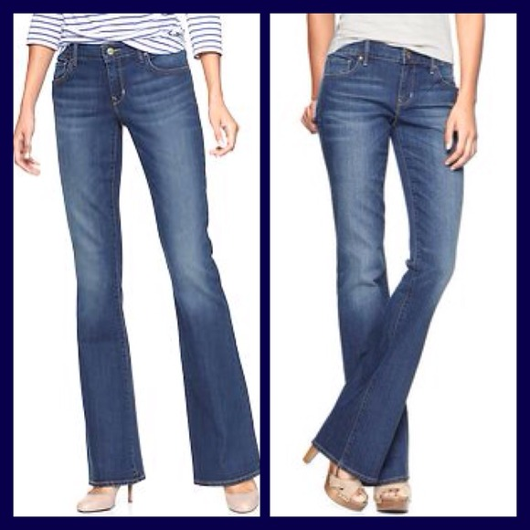 60% off GAP Denim - GAP 1969 Curvy Bootcut Jeans in Medium Wash ...