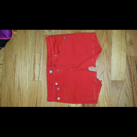Baby doll  Pants - Red Shorts