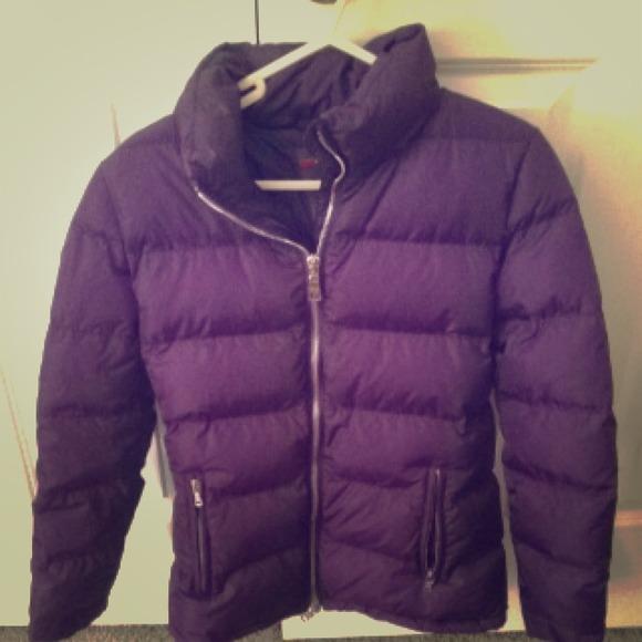 Prada Jackets Coats Purple Puffy Winter Coat Poshmark