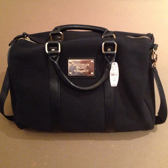Victoria S Secret Bags Victoria Secret Black Bag Poshmark