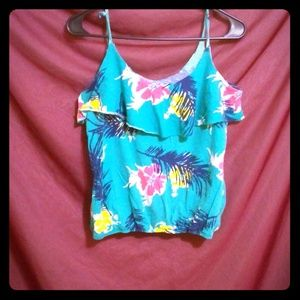 **Old Navy Floral Tank**