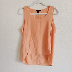 H&M Tops - Orange Tank