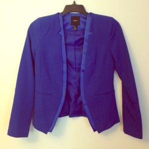 Forever 21 Jackets & Blazers - Cobalt Tuxedo Blazer