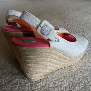 Calypso St. Barth for Target Canvas Wedges