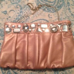exhilaration Clutches & Wallets - Beautiful Pink Evening Bag