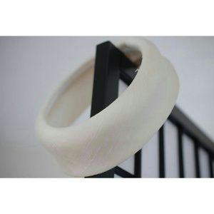 Accessories - White pill box hat