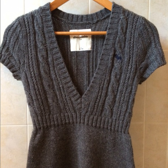Abercrombie Grey Sweater Dress 51