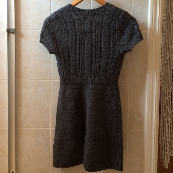Abercrombie Grey Sweater Dress 79