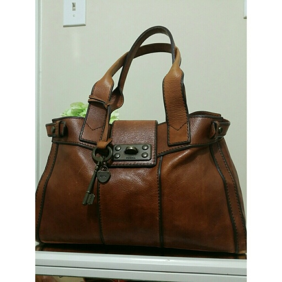 67 Off Fossil Handbags Fossil Vintage Tote Bag From