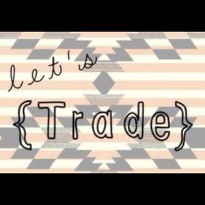 Wanna trade? Just ask :)