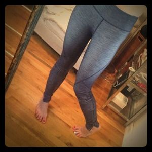 lululemon athletica Pants - Lululemon Denim Look Yoga Pants