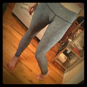 lululemon athletica Pants - Lululemon Tweed Effect Wunder Under