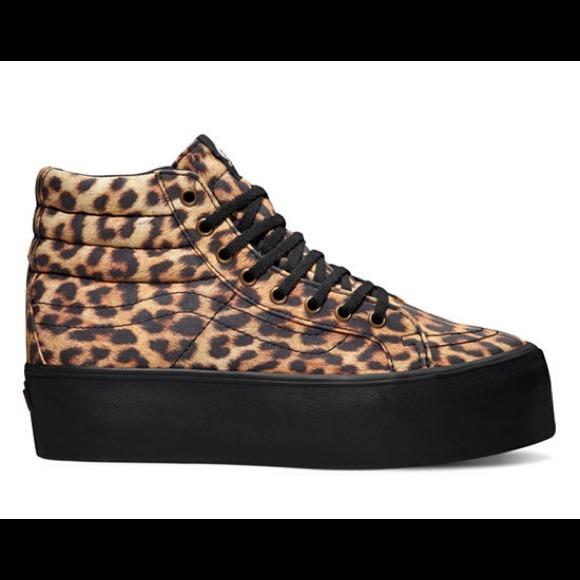 948b51bba4ed Platform cheetah print Vans. M 53e7b1450fb6cd674f1c2375