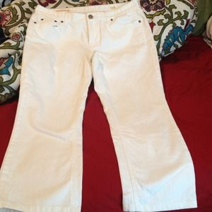 White J.Crew Matchstick jeans!
