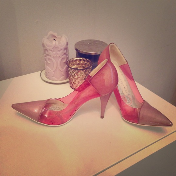 Stella McCartney Shoes - Stella McCartney Vinyl Panel Leatherette Pumps
