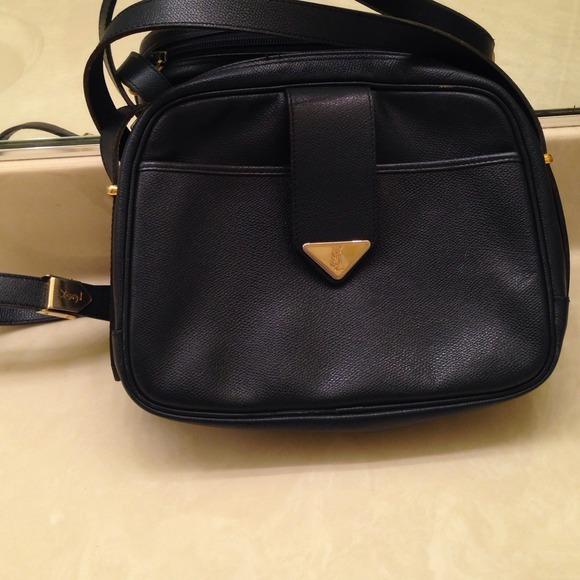 85% off Yves Saint Laurent Handbags - NAVY BLUE YVES SAINT LAURENT ...