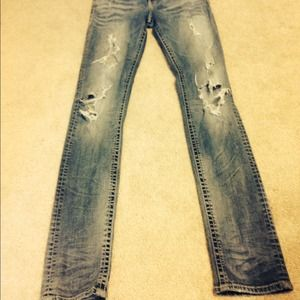 65% off Silver Jeans Denim - Ripped Silver jeans. from Maggie's ...