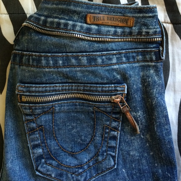 True Religion Acid Wash Jeans Mens Rare Acid Washed True Religion