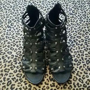 Shoes - *REDUCED*  Express black sandles