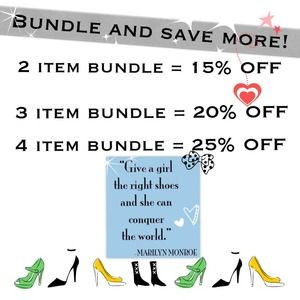 Do you like more than one item?  Let's BUNDLE!!!