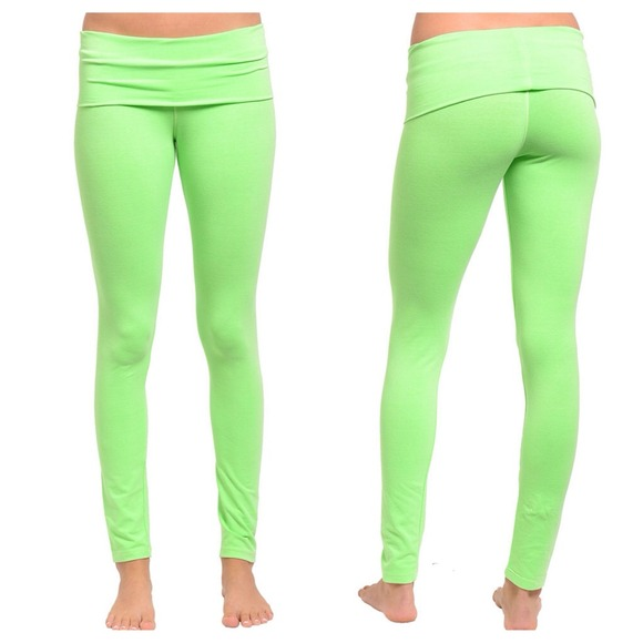SALE Was $20 LAST PAIR Neon Green Yoga Pants S from Jessica's ...