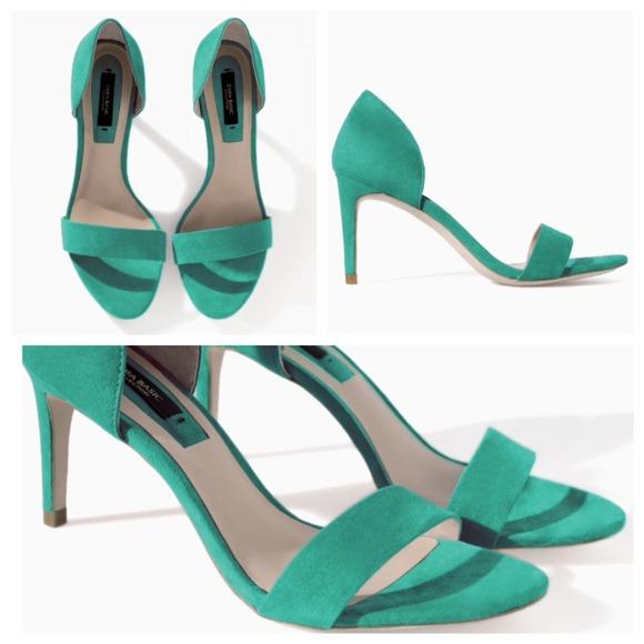 d991f646633c ⚡️TEMPORARY PRICE DROP⚡ Zara Turquoise Sandals