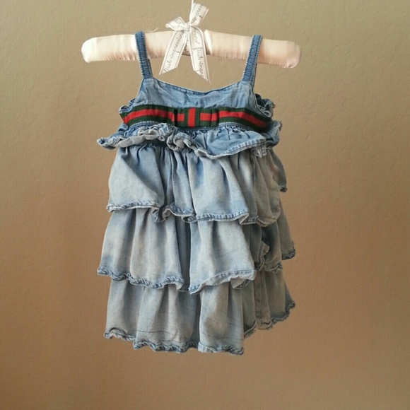 bcee30bab Gucci Dresses | Baby Girl Dress 912 Months | Poshmark
