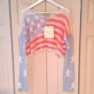 Wildfox Born on Fourth of July Sweater