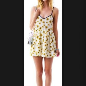 Dresses & Skirts - Daisy backless romper