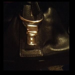 Coach Other Black Leather Duffle Weekender Bag Poshmark