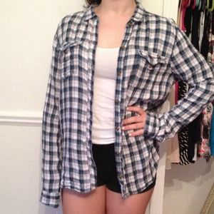 NEW Abercrombie & fitch flannel!!
