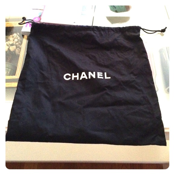 chanel authentic chanel dust bag from bom s closet on