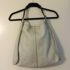 Off white Lucky brand leather bag